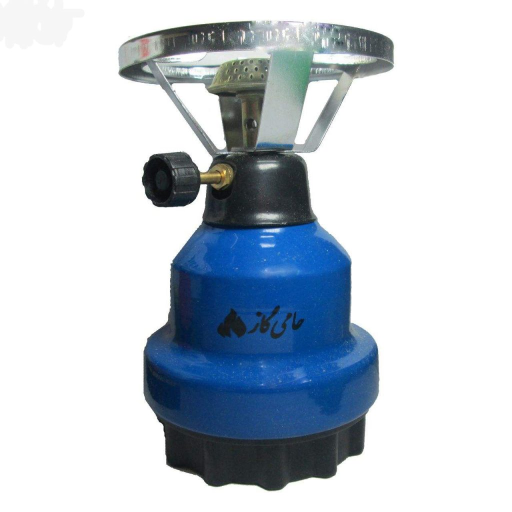 Supporting travel gas stoves (camping)
